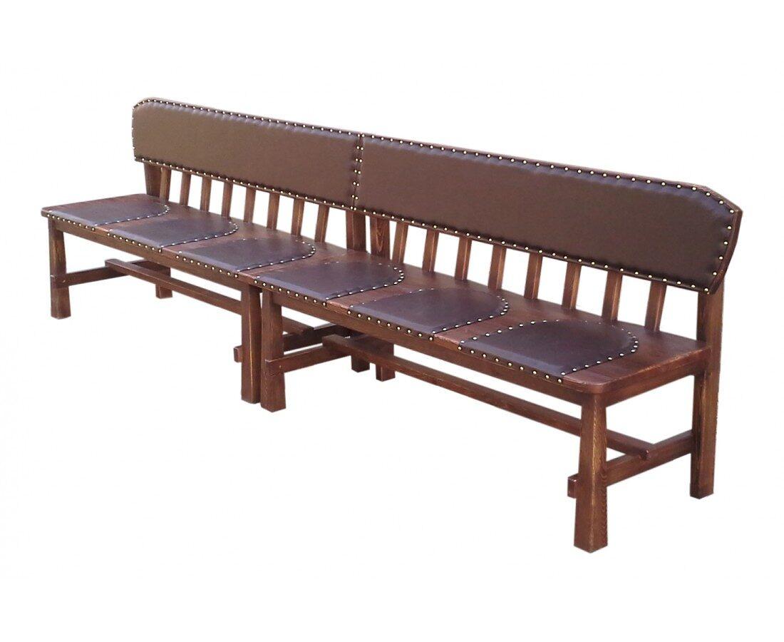 Состаренная скамейка