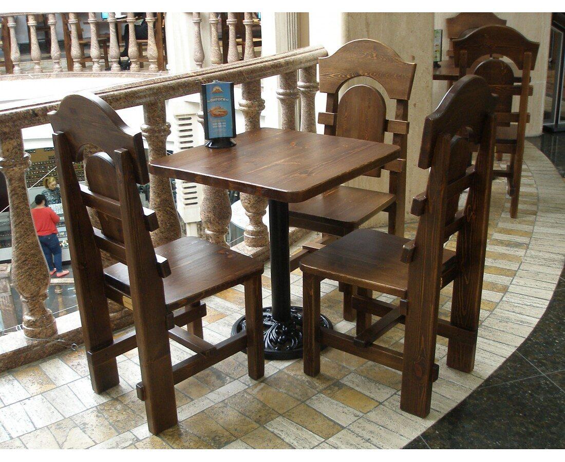 Столы, стулья в ТЦ Центральный