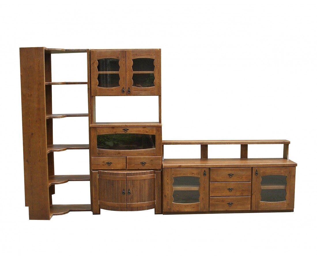Комплект состаренной мебели для бара