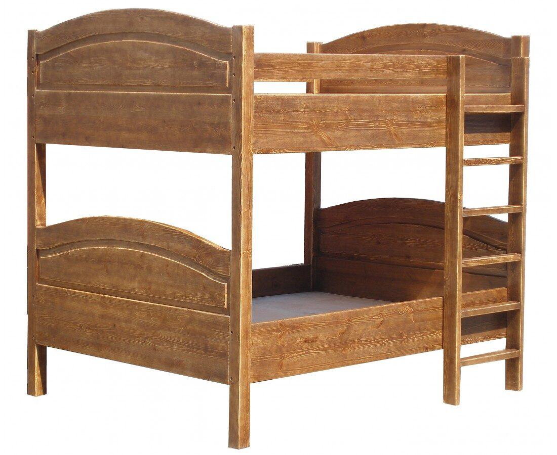 Кровать состаренная